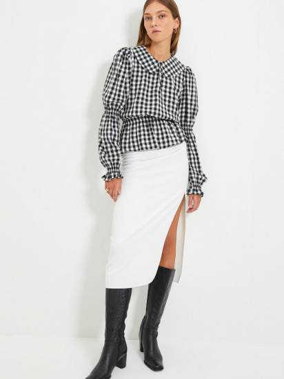 Блуза з довгим рукавом Trendyol модель TWOAW22BZ0165/Siyah — фото 2 - INTERTOP