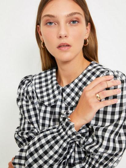 Блуза з довгим рукавом Trendyol модель TWOAW22BZ0165/Siyah — фото 3 - INTERTOP
