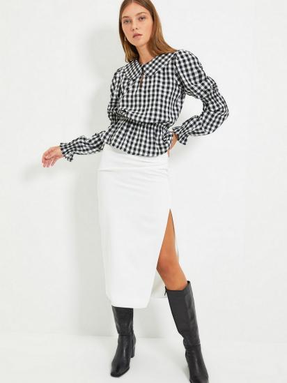 Блуза з довгим рукавом Trendyol модель TWOAW22BZ0165/Siyah — фото 5 - INTERTOP