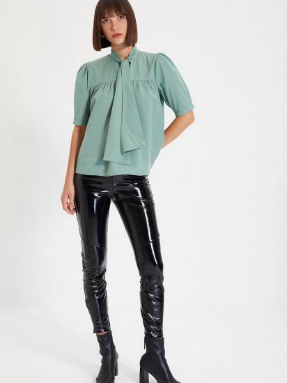 Блуза з коротким рукавом Trendyol модель TWOAW22BZ0167/Mint — фото 2 - INTERTOP