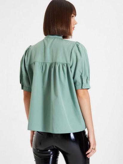 Блуза з коротким рукавом Trendyol модель TWOAW22BZ0167/Mint — фото 4 - INTERTOP