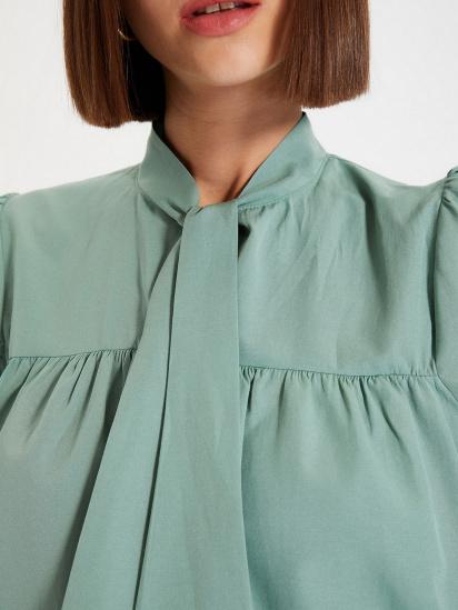 Блуза з коротким рукавом Trendyol модель TWOAW22BZ0167/Mint — фото 5 - INTERTOP
