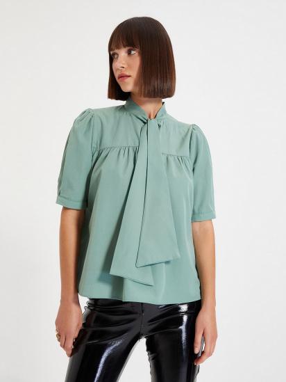 Блуза з коротким рукавом Trendyol модель TWOAW22BZ0167/Mint — фото - INTERTOP