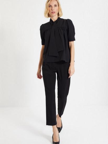 Блуза з коротким рукавом Trendyol модель TWOAW22BZ0167/Siyah — фото 2 - INTERTOP