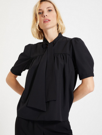Блуза з коротким рукавом Trendyol модель TWOAW22BZ0167/Siyah — фото 3 - INTERTOP