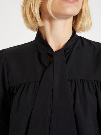 Блуза з коротким рукавом Trendyol модель TWOAW22BZ0167/Siyah — фото 5 - INTERTOP