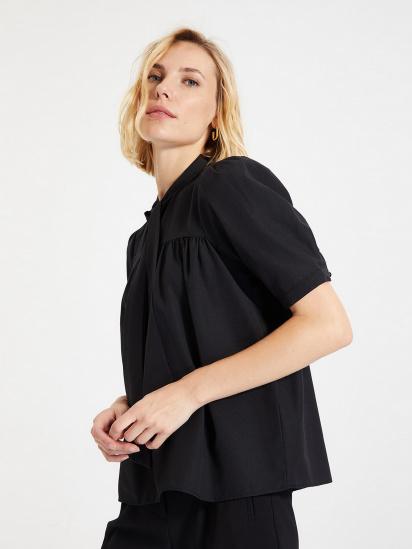 Блуза з коротким рукавом Trendyol модель TWOAW22BZ0167/Siyah — фото - INTERTOP