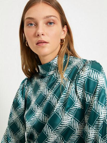 Блуза з довгим рукавом Trendyol модель TWOAW22BZ0171/Zumrut Yesili — фото 2 - INTERTOP