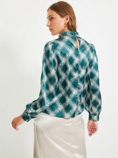 Блуза з довгим рукавом Trendyol модель TWOAW22BZ0171/Zumrut Yesili — фото 5 - INTERTOP