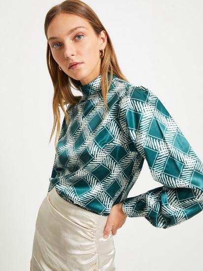 Блуза з довгим рукавом Trendyol модель TWOAW22BZ0171/Zumrut Yesili — фото - INTERTOP