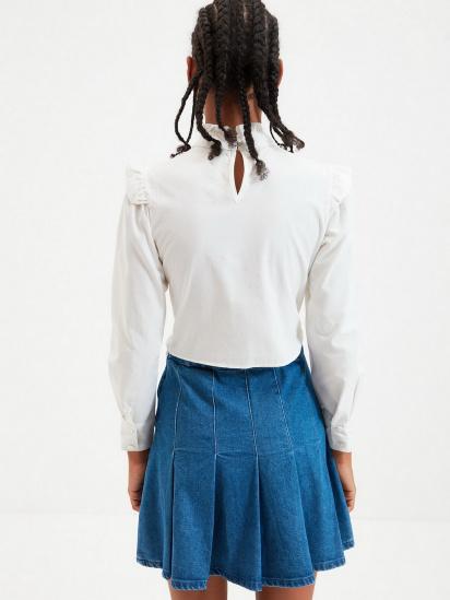 Блуза з довгим рукавом Trendyol модель TWOAW22BZ0185/Ekru — фото 2 - INTERTOP
