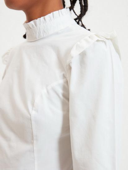 Блуза з довгим рукавом Trendyol модель TWOAW22BZ0185/Ekru — фото 5 - INTERTOP