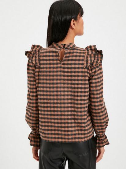 Блуза з довгим рукавом Trendyol модель TWOAW22BZ0226/Kahverengi — фото 2 - INTERTOP