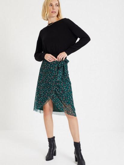 Блуза з довгим рукавом Trendyol модель TWOAW22BZ0240/Siyah — фото 4 - INTERTOP