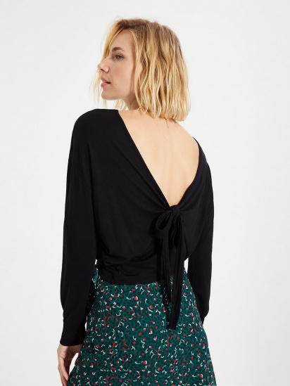 Блуза з довгим рукавом Trendyol модель TWOAW22BZ0240/Siyah — фото - INTERTOP