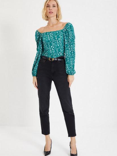 Блуза з довгим рукавом Trendyol модель TWOAW22BZ0254/Yesil — фото 2 - INTERTOP