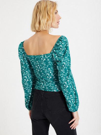 Блуза з довгим рукавом Trendyol модель TWOAW22BZ0254/Yesil — фото 5 - INTERTOP