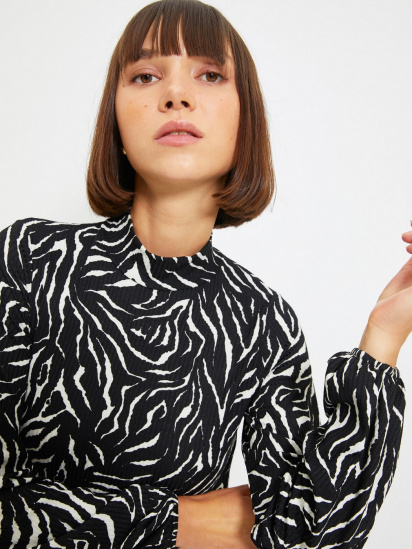 Блуза з довгим рукавом Trendyol модель TWOAW22BZ0260/Beyaz — фото 3 - INTERTOP