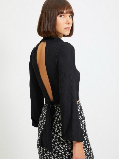 Блуза з довгим рукавом Trendyol модель TWOAW22BZ0260/Siyah — фото 2 - INTERTOP