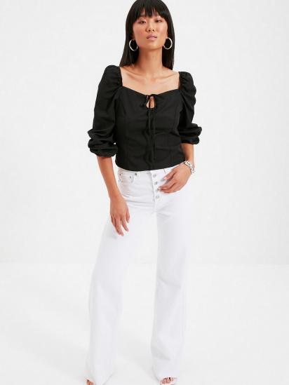 Блуза з довгим рукавом Trendyol модель TWOAW22BZ0357/Siyah — фото 3 - INTERTOP