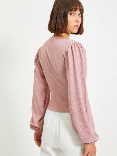Блуза з довгим рукавом Trendyol модель TWOAW22BZ0458/Gul Kurusu — фото 2 - INTERTOP