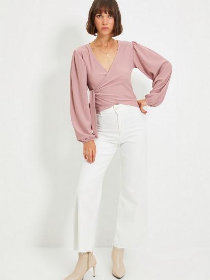 Блуза з довгим рукавом Trendyol модель TWOAW22BZ0458/Gul Kurusu — фото 3 - INTERTOP