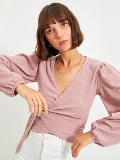 Блуза з довгим рукавом Trendyol модель TWOAW22BZ0458/Gul Kurusu — фото 4 - INTERTOP