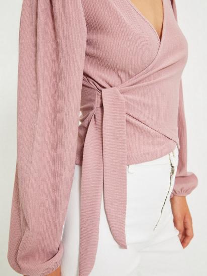 Блуза з довгим рукавом Trendyol модель TWOAW22BZ0458/Gul Kurusu — фото 5 - INTERTOP