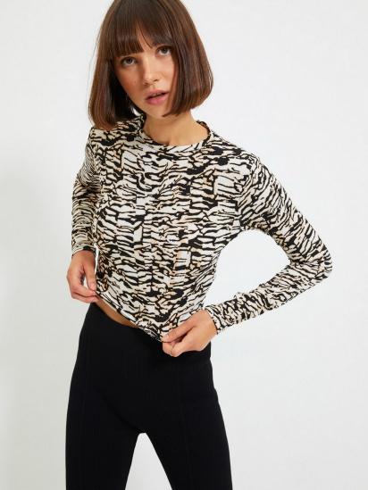 Блуза з довгим рукавом Trendyol модель TWOAW22BZ0505/Kahverengi — фото 2 - INTERTOP