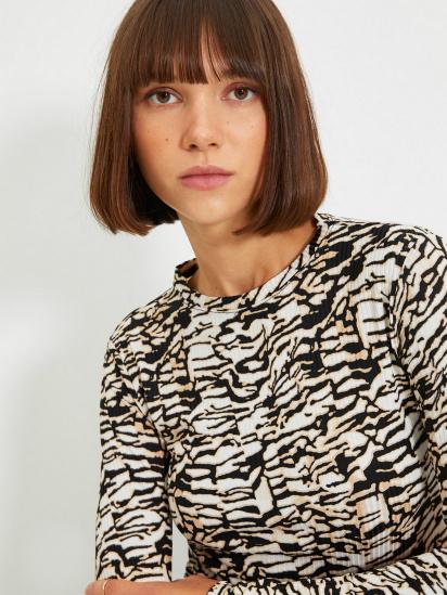 Блуза з довгим рукавом Trendyol модель TWOAW22BZ0505/Kahverengi — фото 3 - INTERTOP