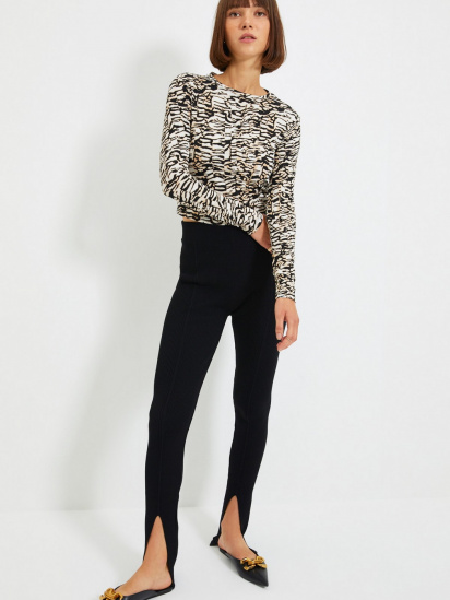 Блуза з довгим рукавом Trendyol модель TWOAW22BZ0505/Kahverengi — фото 5 - INTERTOP