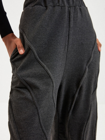 Спортивні штани Trendyol модель TWOAW22EA0044/Antrasit — фото 5 - INTERTOP