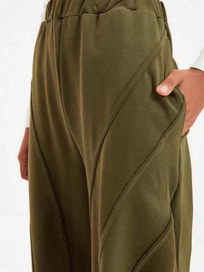 Спортивні штани Trendyol модель TWOAW22EA0044/Haki — фото 4 - INTERTOP