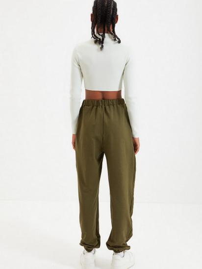 Спортивні штани Trendyol модель TWOAW22EA0044/Haki — фото 5 - INTERTOP