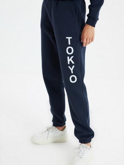 Спортивні штани Trendyol модель TWOAW22EA0181/Lacivert — фото 2 - INTERTOP