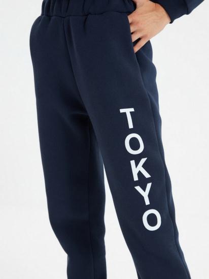 Спортивні штани Trendyol модель TWOAW22EA0181/Lacivert — фото 5 - INTERTOP
