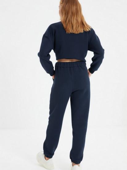 Спортивні штани Trendyol модель TWOAW22EA0181/Lacivert — фото 6 - INTERTOP