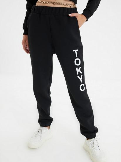 Спортивні штани Trendyol модель TWOAW22EA0181/Siyah — фото 5 - INTERTOP