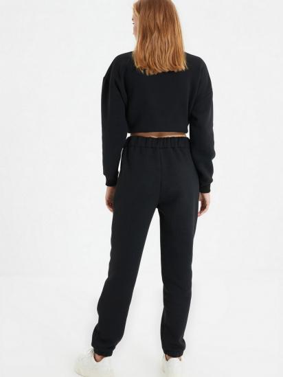Спортивні штани Trendyol модель TWOAW22EA0181/Siyah — фото 6 - INTERTOP