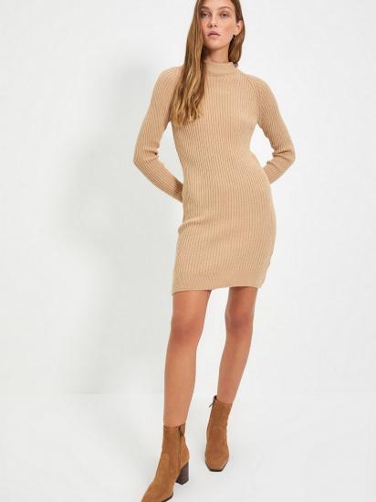 Сукня Trendyol модель TWOAW22EL0017/Bej — фото 2 - INTERTOP