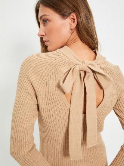 Сукня Trendyol модель TWOAW22EL0017/Bej — фото 3 - INTERTOP