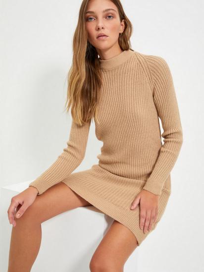 Сукня Trendyol модель TWOAW22EL0017/Bej — фото 5 - INTERTOP