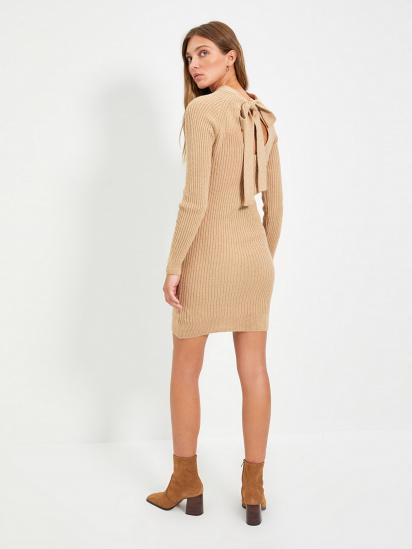 Сукня Trendyol модель TWOAW22EL0017/Bej — фото - INTERTOP