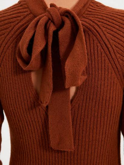 Сукня Trendyol модель TWOAW22EL0017/Kiremit — фото 2 - INTERTOP