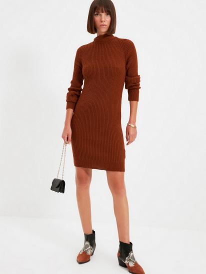 Сукня Trendyol модель TWOAW22EL0017/Kiremit — фото 3 - INTERTOP