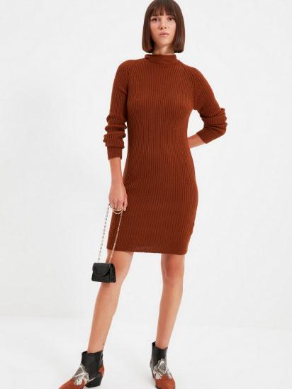 Сукня Trendyol модель TWOAW22EL0017/Kiremit — фото 4 - INTERTOP