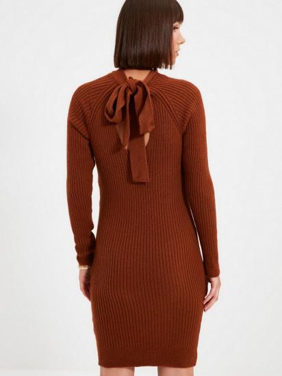 Сукня Trendyol модель TWOAW22EL0017/Kiremit — фото 5 - INTERTOP