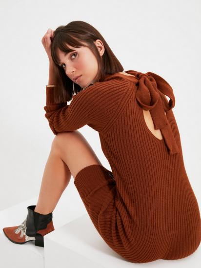Сукня Trendyol модель TWOAW22EL0017/Kiremit — фото - INTERTOP