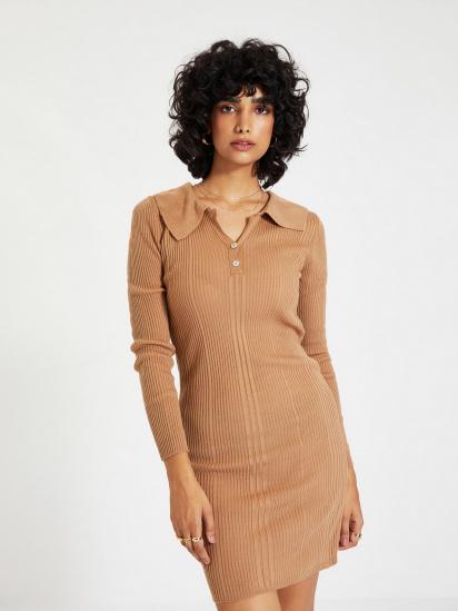 Сукня Trendyol модель TWOAW22EL0037/Camel — фото - INTERTOP