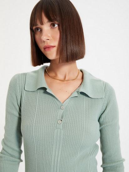 Сукня Trendyol модель TWOAW22EL0037/Mint — фото 4 - INTERTOP
